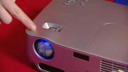 Hoe werkt een beamer?: Een beamer moet een goede afbeelding op een scherm projecteren