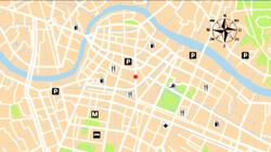 Een overzichtskaart: Vind je weg met een kaart