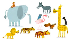 Let's go to the zoo!: The animals are there