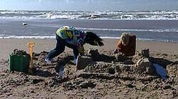 Het zandkasteel: Kijk en luister