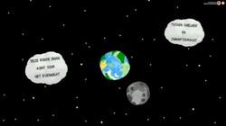 Waarom draait de maan rond de aarde?: Wisebit van Frank Schaafsma