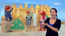 Het Zandkasteel met gebarentolk: Het Zandkasteel: trucjes