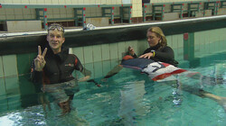 Proefkonijnen in de klas: Hoelang kun je je adem inhouden onder water?