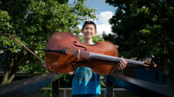 Titaantjes: Cellist Alex en Jörg Brinkmann