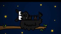 The colour black: Een animatie over de kleur zwart in het Engels