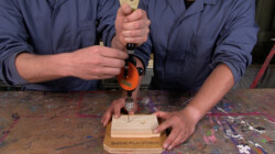 Hoppatee!: Hoe moet je boren?