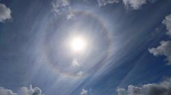Wolken kijken: de sluierwolk: Kringen om de zon en regenbogen in de wolken