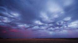 Wolken kijken: de asperitaswolk: Een ruige zee in de lucht
