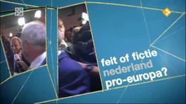 Npo Spirit - Hebben Nederlanders Gekozen Voor Pro-europees?