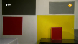 Close Up In het atelier van Mondriaan