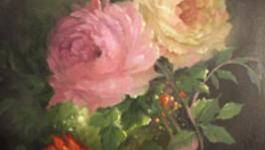 Schilderen Met Gary Jenkins - Elegante Roos - Schilderen Met Gary Jenkins