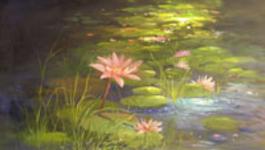 Schilderen Met Gary Jenkins - 12. Waterlelies - Schilderen Met Gary Jenkins