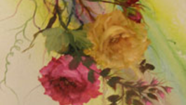 Schilderen Met Gary Jenkins - Regenboog Rozen