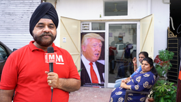 Donald Trump in India