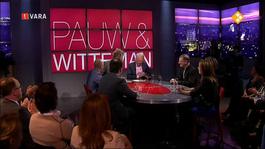 Pauw & Witteman - -in Het Teken Van De Inauguratie Van De Paus. Te Gast Zijn Journalist Peter Scheffers En Bisschop Jos Punt. Beiden Schuiven Aan Om Het Hier Over Te Hebben.