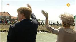 NOS Provinciebezoeken Koning Willem-Alexander en Koningin Máxima Friesland en Noord-Holland