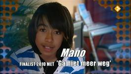 Junior Songfestival - In Da House: Mano