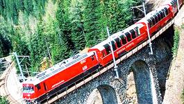Rail Away - Zwitserland, Bernina Express: Pontresina - Tirano