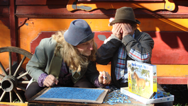 Elly En De Wiebelwagen - De Paardenpuzzel