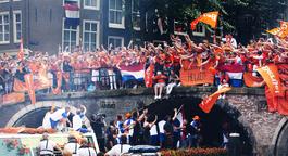 Netwerk (eo, Ncrv) - Oranjehuldiging In Amsterdam