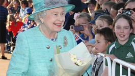 Blauw Bloed - Koningin Elizabeth Down Under