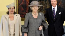Blauw Bloed - Koningin Op Staatsbezoek Luxemburg
