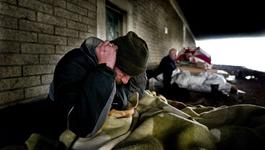 Door De Wereld - Zware Winterdagen Voor Daklozen