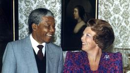 Blauw Bloed De Oranjes en de band met Nelson Mandela