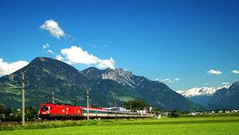 Rail Away - Oostenrijk:  Wenen-bregenz