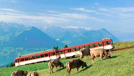 Rail Away - Zwitserland 2: Interlaken Jungfraujoch