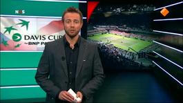 Nos Studio Sport - Nos Studio Sport Tennis Davis Cup Tjechië - Nederland
