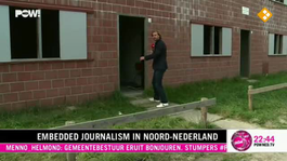 Embedded journalism in Noord-Nederland