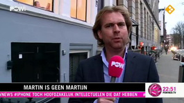 Martin is geen Martijn