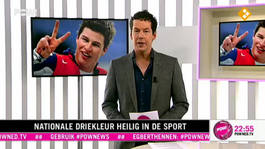 Nationale driekleur heilig in de sport