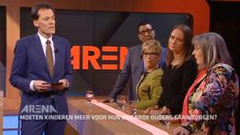 Arena - Moeten Kinderen Meer Voor Hun Bejaarde Ouders Gaan Zorgen?