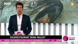 Zalmrestaurant bijna Failliet