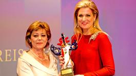 Blauw Bloed Koningin Máxima krijgt Duitse Mediaprijs