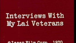 Afbeelding van Interviews with My Lai veterans