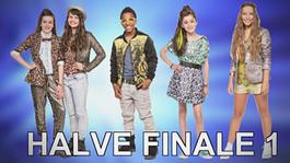 Junior Songfestival - Report 12: Wie Zijn De Finalisten 1e Halve Finale?