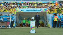 FIFA Wereldkampioenschap Voetbal FIFA Wereldkampioenschap Voetbal: 1ste helft Brazilië - Chili