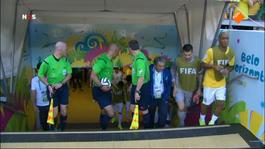 FIFA Wereldkampioenschap Voetbal FIFA Wereldkampioenschap Voetbal: 2de helft Brazilië - Chili