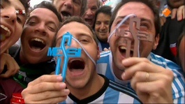 FIFA Wereldkampioenschap Voetbal 1ste helft Nederland - Argentinië
