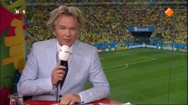 FIFA Wereldkampioenschap Voetbal 1ste helft Brazilië - Nederland