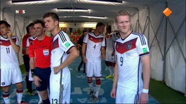 FIFA Wereldkampioenschap Voetbal 2de helft Duitsland - Argentinië
