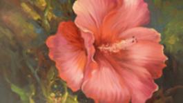 Schilderen met Gary Jenkins Glorieuze hibiscus