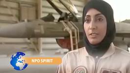 NPO Spirit 2014 Mariam vliegt F-16