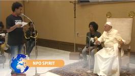 NPO Spirit 2014 Paus en immigranten herdenken tragische schipbreuk