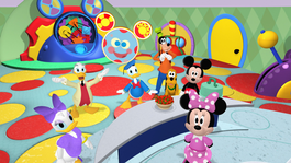 Mickey Mouse clubhuis Toedels is jarig!