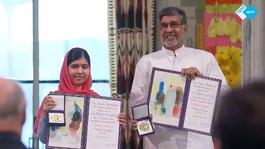 NPO Spirit 2014 Malala ontvangt Nobelprijs