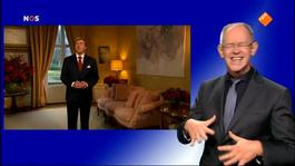 NOS Kersttoespraak Koning Willem-Alexander Kersttoespraak koning Willem-Alexander met gebarentolk